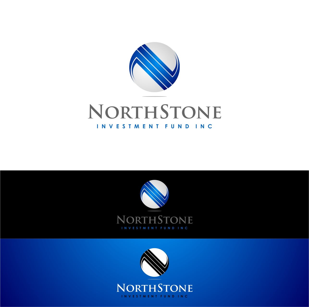 Logo Design by haidu - Entry No. 14 in the Logo Design Contest Unique Logo Design Wanted for NorthStone Investment Fund Inc.