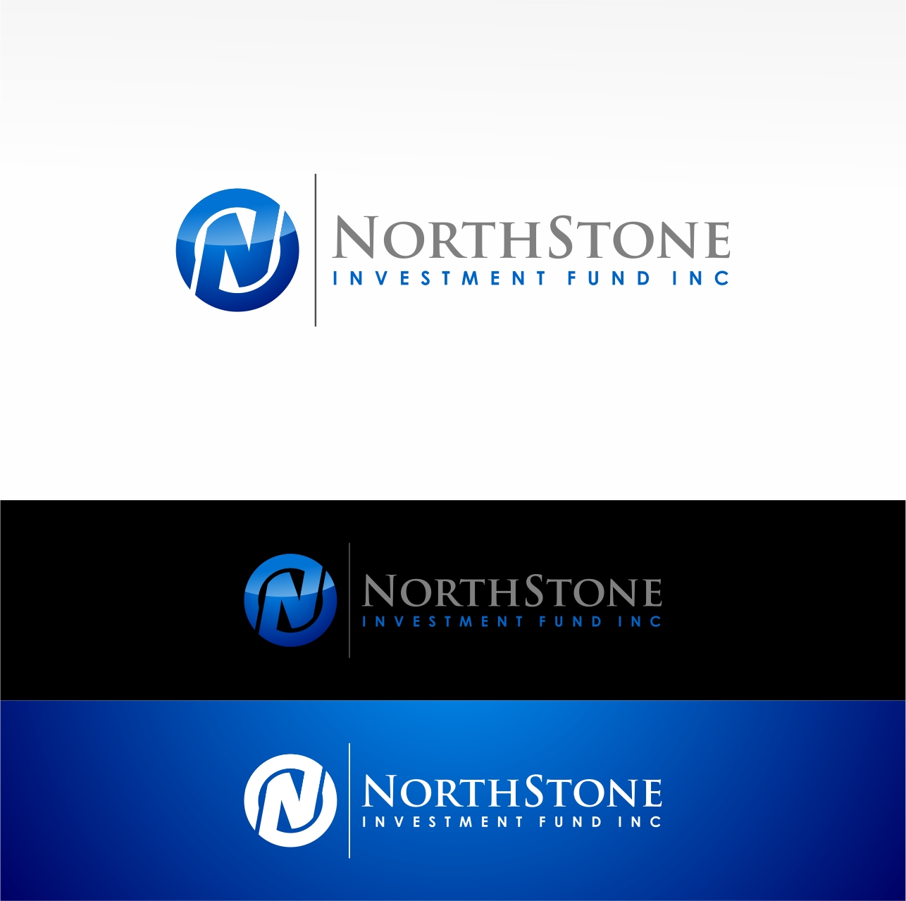 Logo Design by haidu - Entry No. 15 in the Logo Design Contest Unique Logo Design Wanted for NorthStone Investment Fund Inc.
