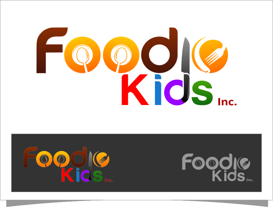 Logo Design by RasYa Muhammad Athaya - Entry No. 24 in the Logo Design Contest New Logo Design for Foodie Kids Inc..