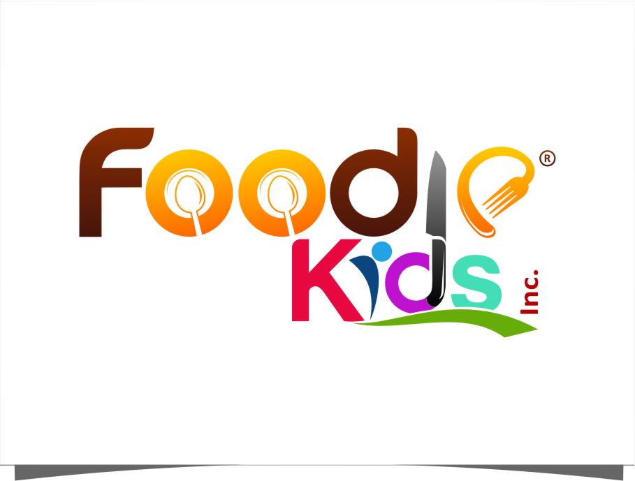 Logo Design by Ngepet_art - Entry No. 26 in the Logo Design Contest New Logo Design for Foodie Kids Inc..