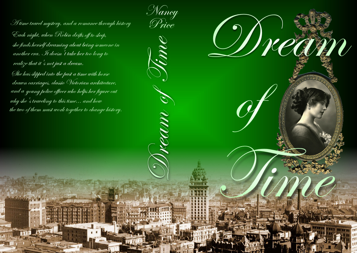 Book Cover Design by Heri Susanto - Entry No. 41 in the Book Cover Design Contest Fun Book Cover Design for Dream of Time.
