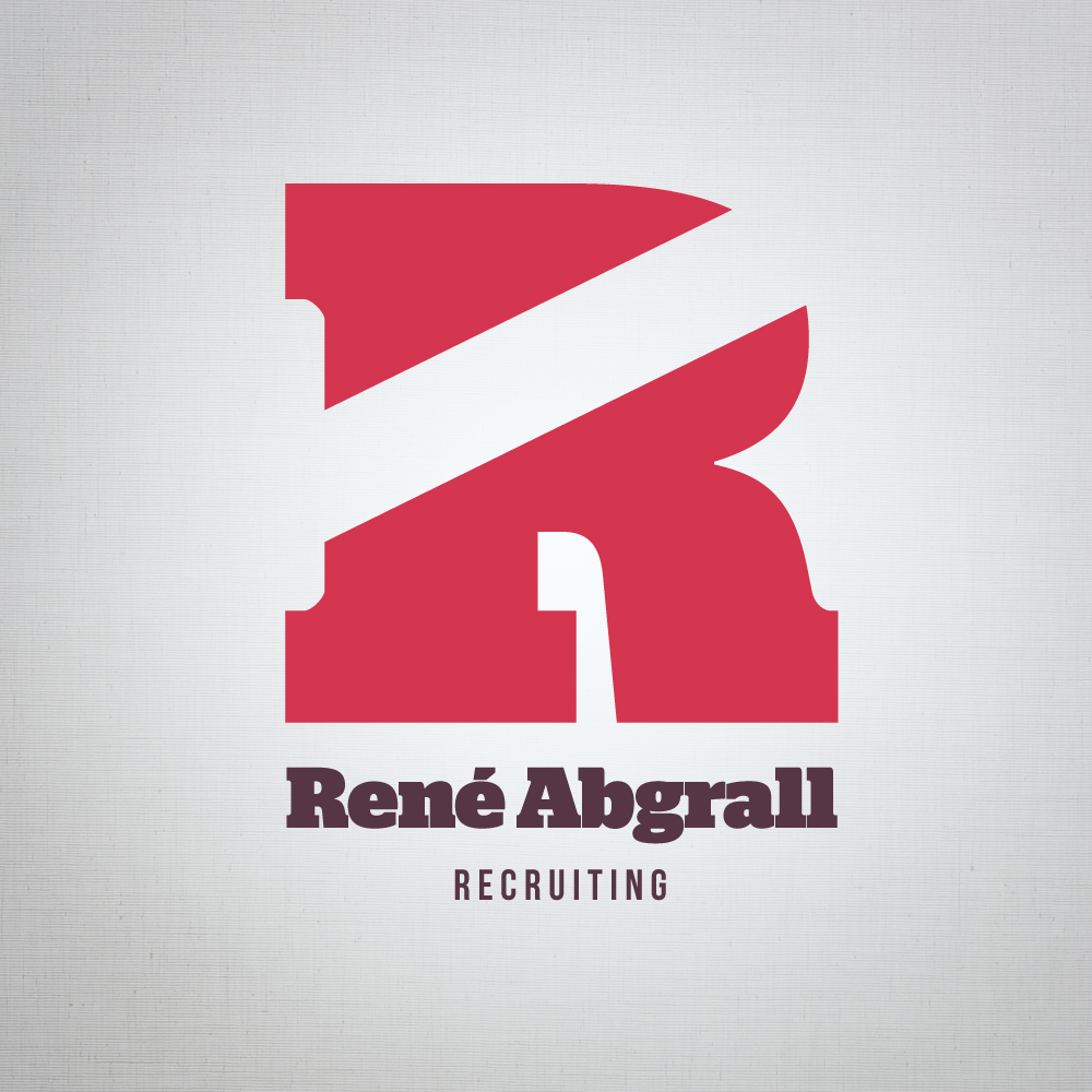 Logo Design by Caslux - Entry No. 28 in the Logo Design Contest Artistic Logo Design for René Abgrall Recruiting.