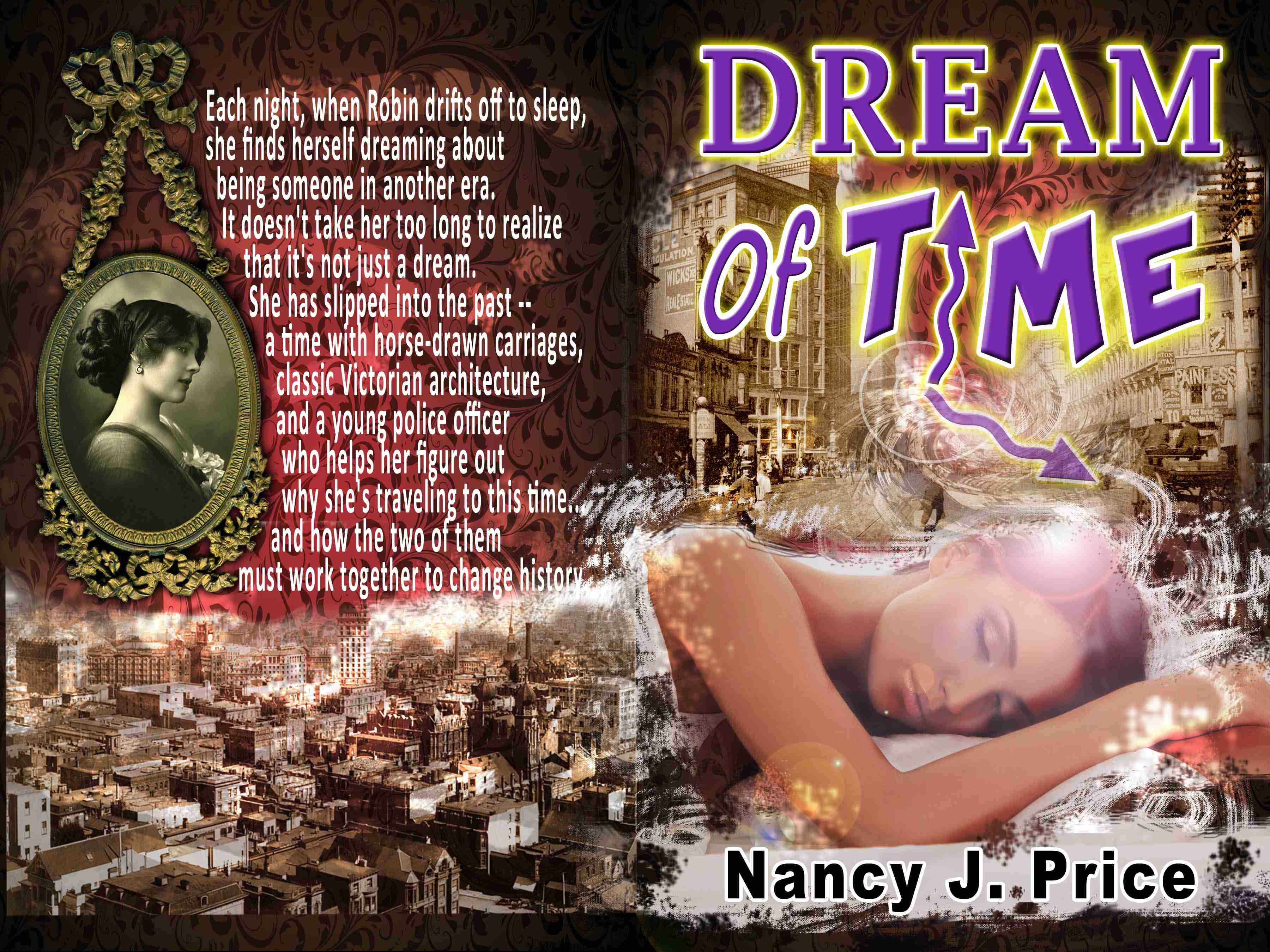 Book Cover Design by joca - Entry No. 45 in the Book Cover Design Contest Fun Book Cover Design for Dream of Time.