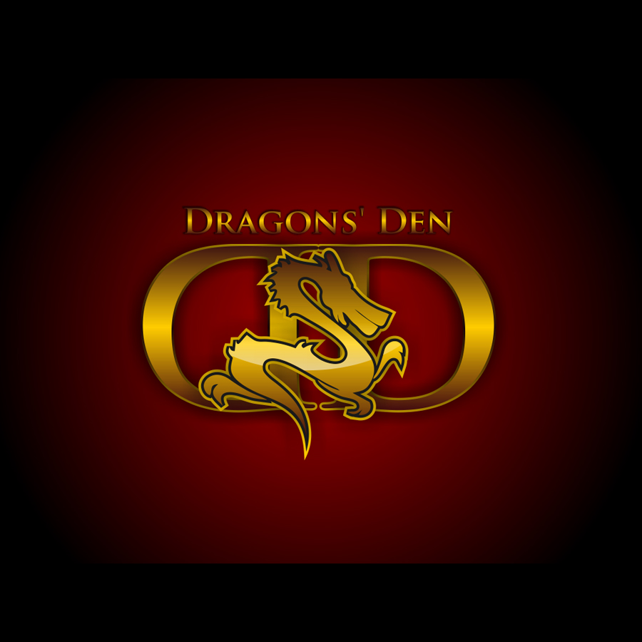 Logo Design by LukeConcept - Entry No. 53 in the Logo Design Contest The Dragons' Den needs a new logo.