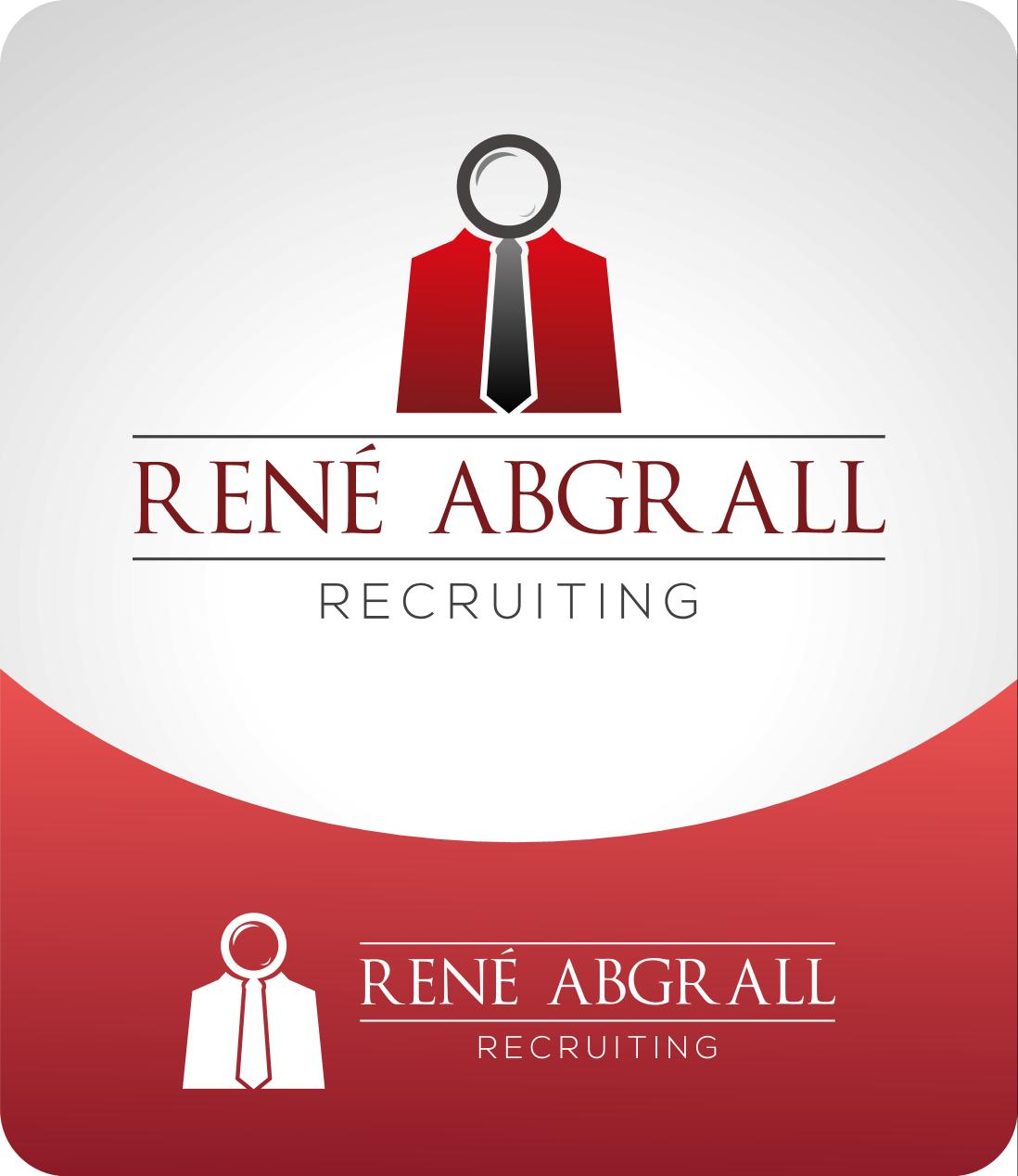 Logo Design by luvrenz - Entry No. 29 in the Logo Design Contest Artistic Logo Design for René Abgrall Recruiting.