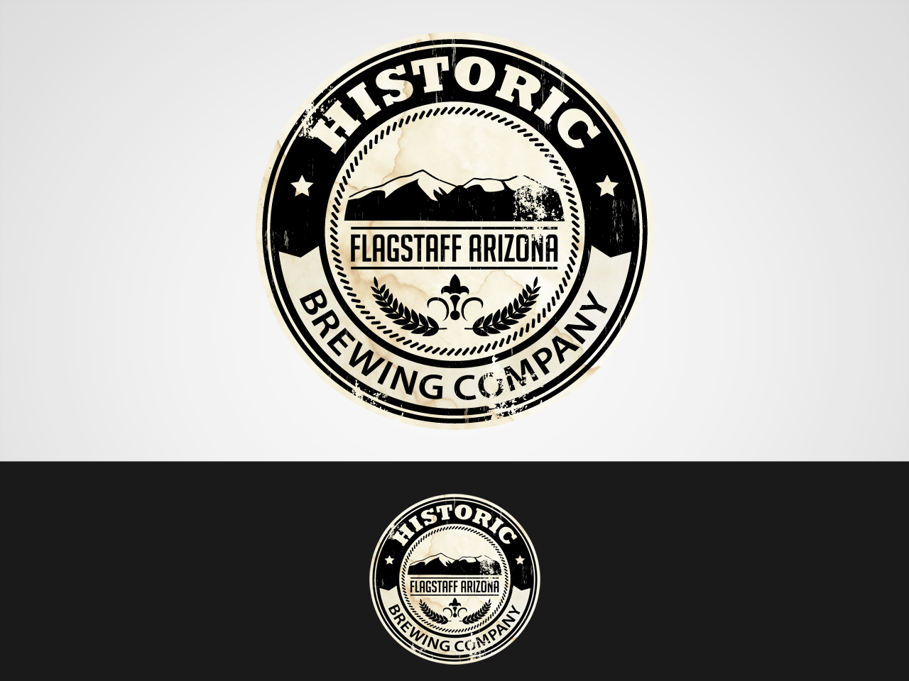 Logo Design by jpbituin - Entry No. 66 in the Logo Design Contest Unique Logo Design Wanted for Historic Brewing Company.