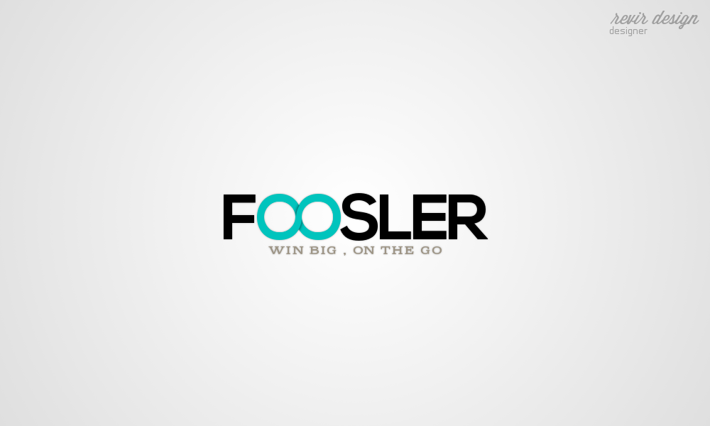 Logo Design by Gabriel Camacho - Entry No. 71 in the Logo Design Contest Foosler Logo Design.
