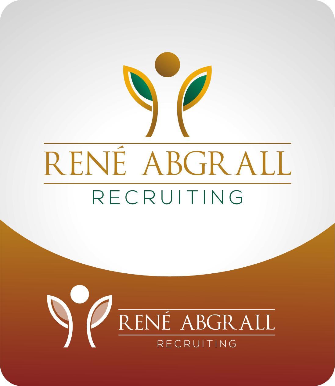 Logo Design by luvrenz - Entry No. 30 in the Logo Design Contest Artistic Logo Design for René Abgrall Recruiting.