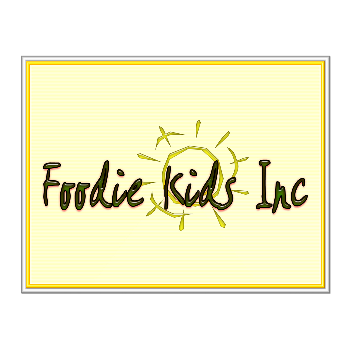 Logo Design by MITUCA ANDREI - Entry No. 33 in the Logo Design Contest New Logo Design for Foodie Kids Inc..