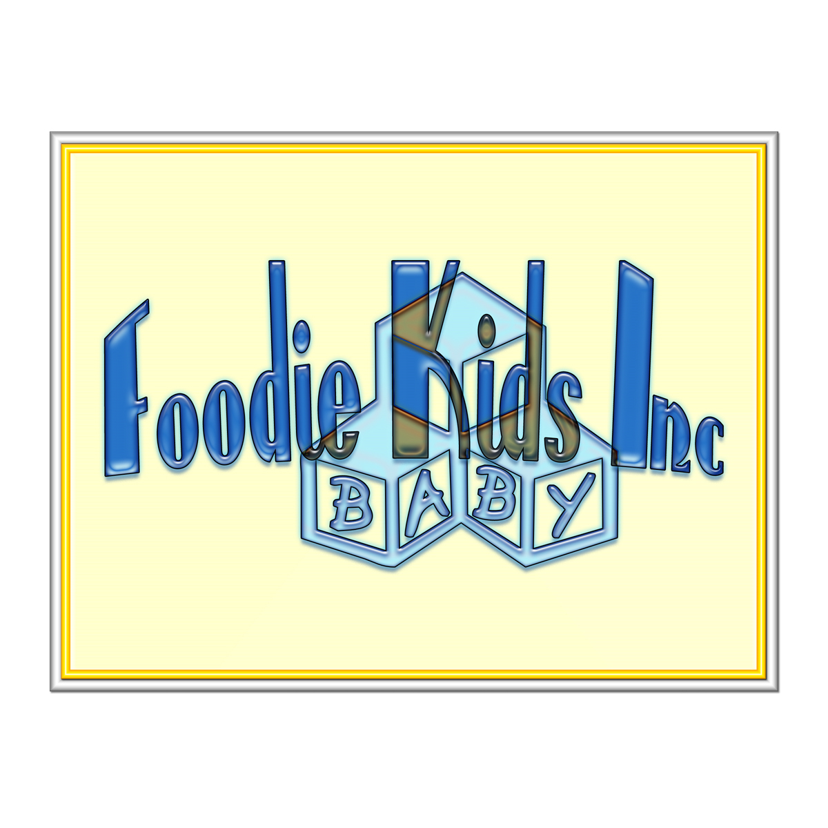 Logo Design by MITUCA ANDREI - Entry No. 35 in the Logo Design Contest New Logo Design for Foodie Kids Inc..