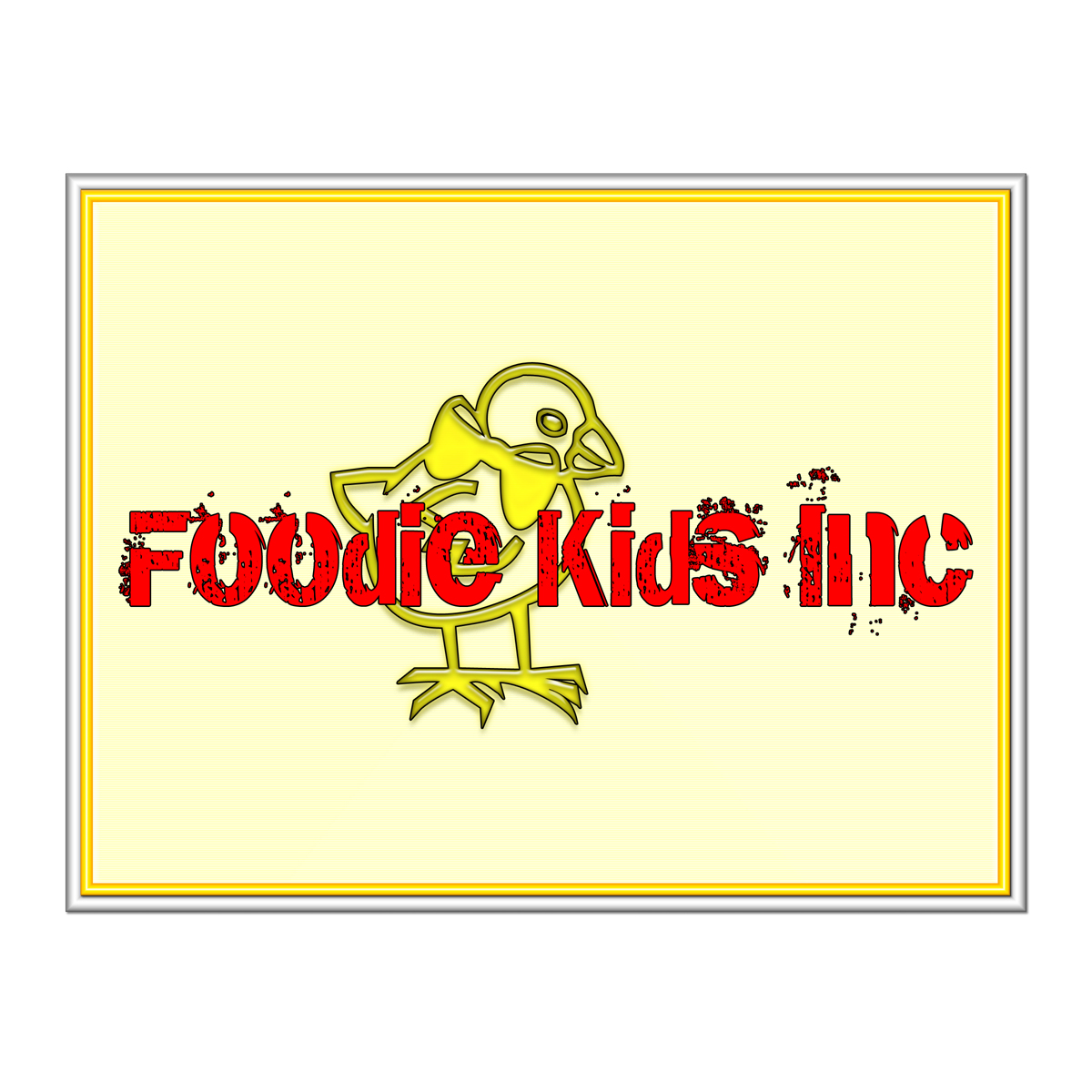 Logo Design by MITUCA ANDREI - Entry No. 36 in the Logo Design Contest New Logo Design for Foodie Kids Inc..