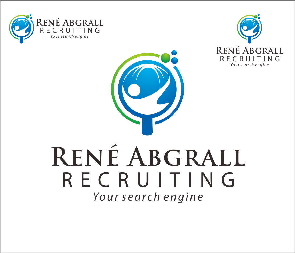 Logo Design by Armada Jamaluddin - Entry No. 31 in the Logo Design Contest Artistic Logo Design for René Abgrall Recruiting.