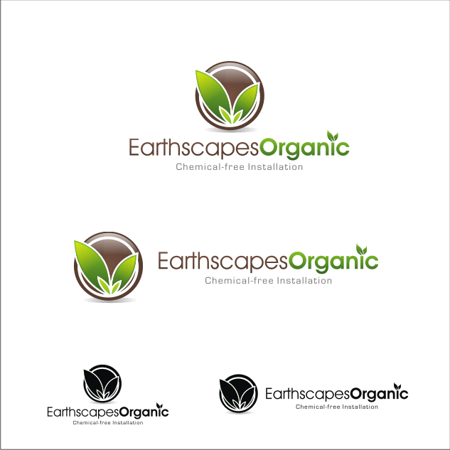 Logo Design by key - Entry No. 100 in the Logo Design Contest Earthscapes Organic.