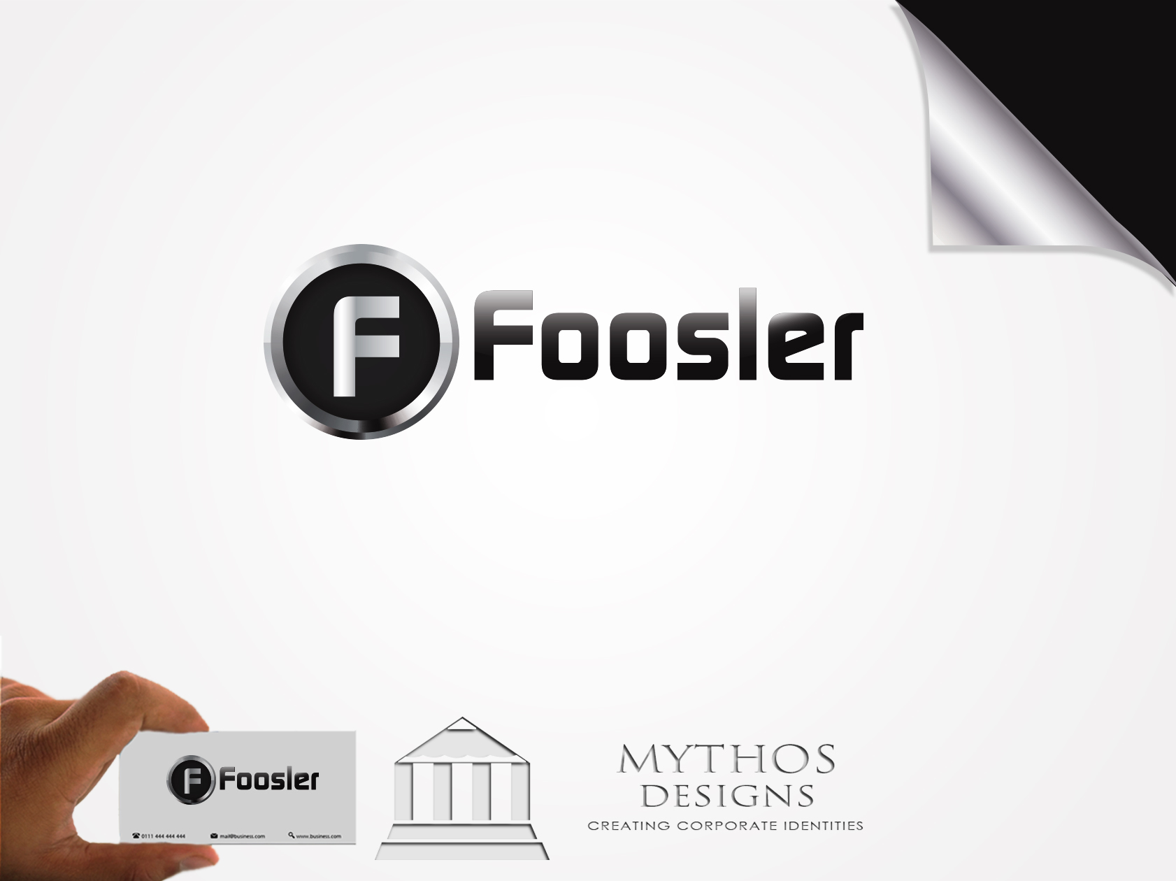 Logo Design by Mythos Designs - Entry No. 87 in the Logo Design Contest Foosler Logo Design.