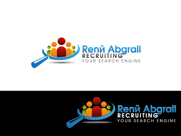 Logo Design by Private User - Entry No. 37 in the Logo Design Contest Artistic Logo Design for René Abgrall Recruiting.