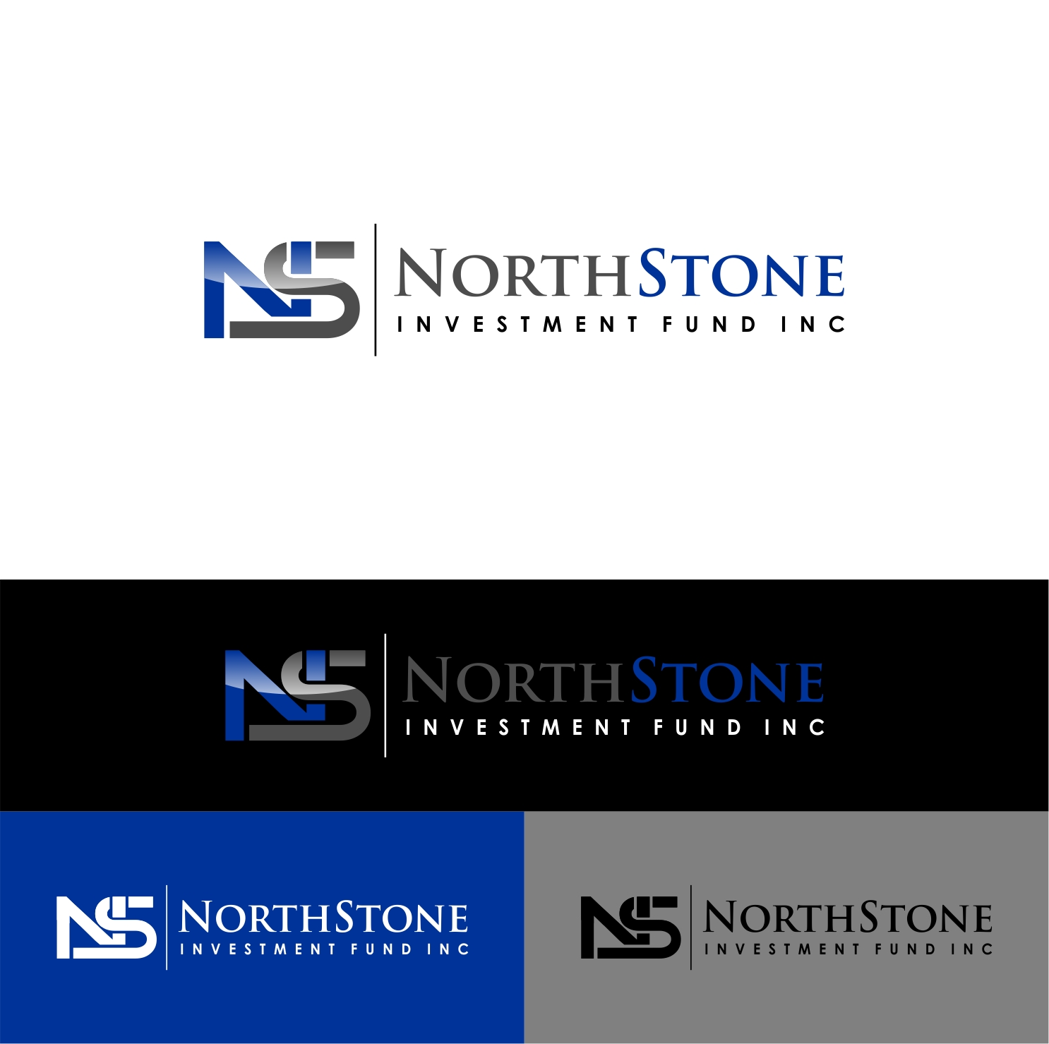 Logo Design by haidu - Entry No. 30 in the Logo Design Contest Unique Logo Design Wanted for NorthStone Investment Fund Inc.