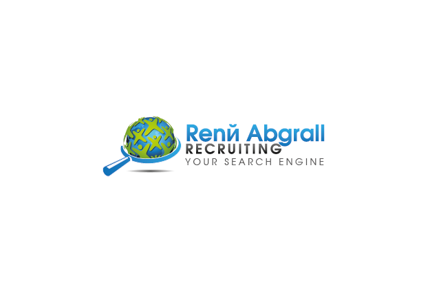 Logo Design by Private User - Entry No. 38 in the Logo Design Contest Artistic Logo Design for René Abgrall Recruiting.