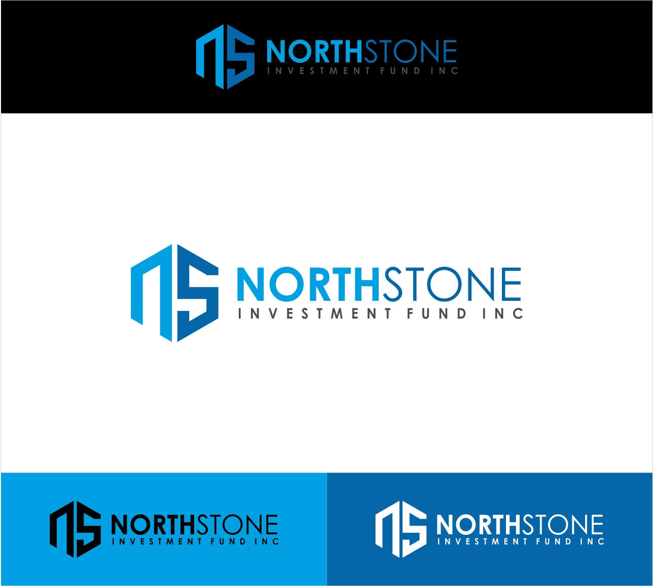 Logo Design by haidu - Entry No. 33 in the Logo Design Contest Unique Logo Design Wanted for NorthStone Investment Fund Inc.