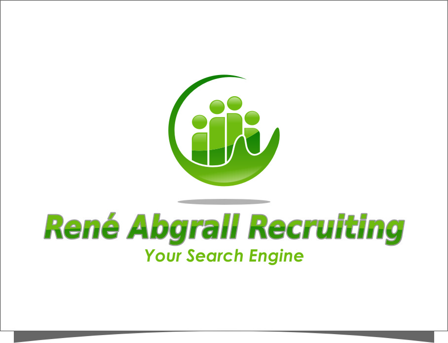 Logo Design by Ngepet_art - Entry No. 45 in the Logo Design Contest Artistic Logo Design for René Abgrall Recruiting.