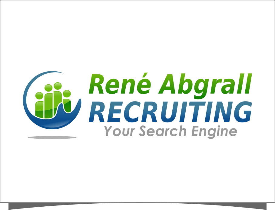 Logo Design by Ngepet_art - Entry No. 46 in the Logo Design Contest Artistic Logo Design for René Abgrall Recruiting.