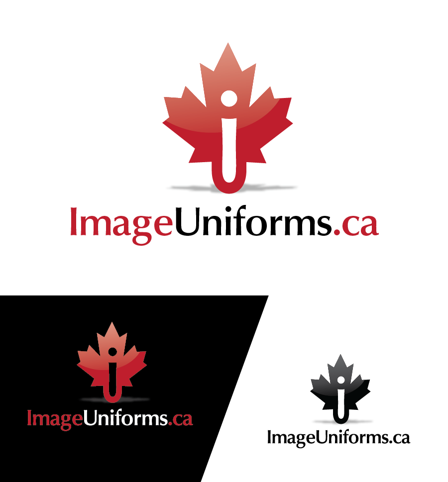 Logo Design by Christina Evans - Entry No. 1 in the Logo Design Contest Inspiring Logo Design for Image Uniforms Inc.