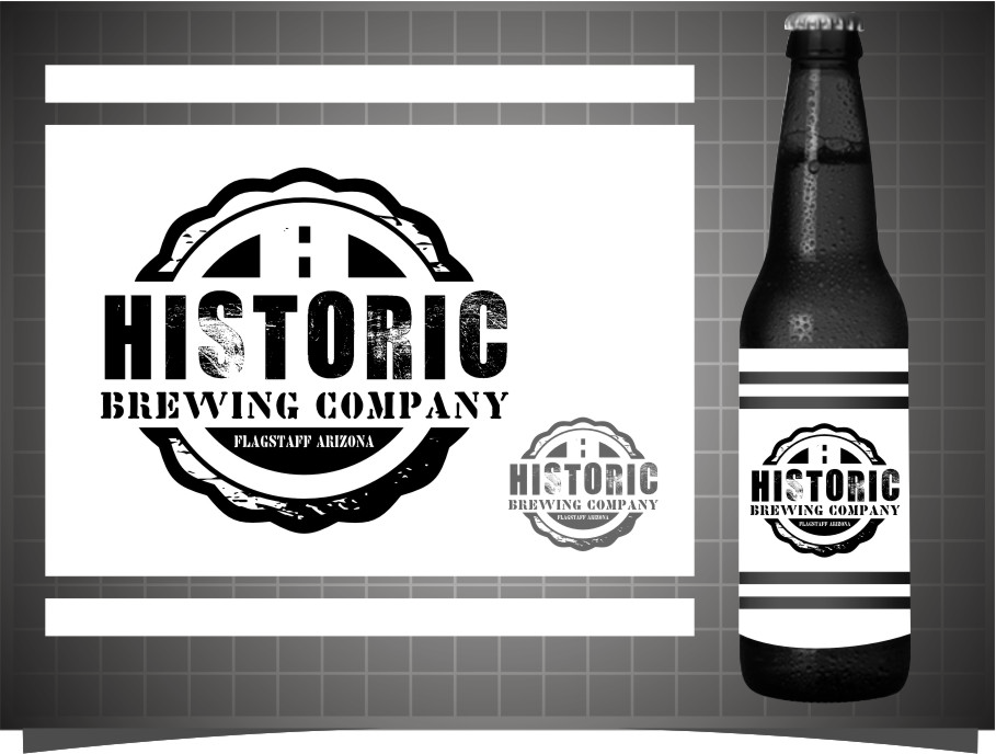 Logo Design by Ngepet_art - Entry No. 68 in the Logo Design Contest Unique Logo Design Wanted for Historic Brewing Company.