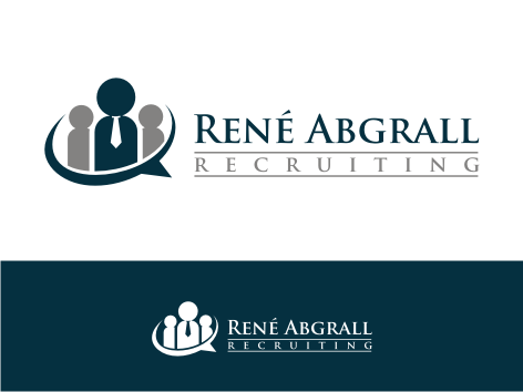 Logo Design by key - Entry No. 47 in the Logo Design Contest Artistic Logo Design for René Abgrall Recruiting.