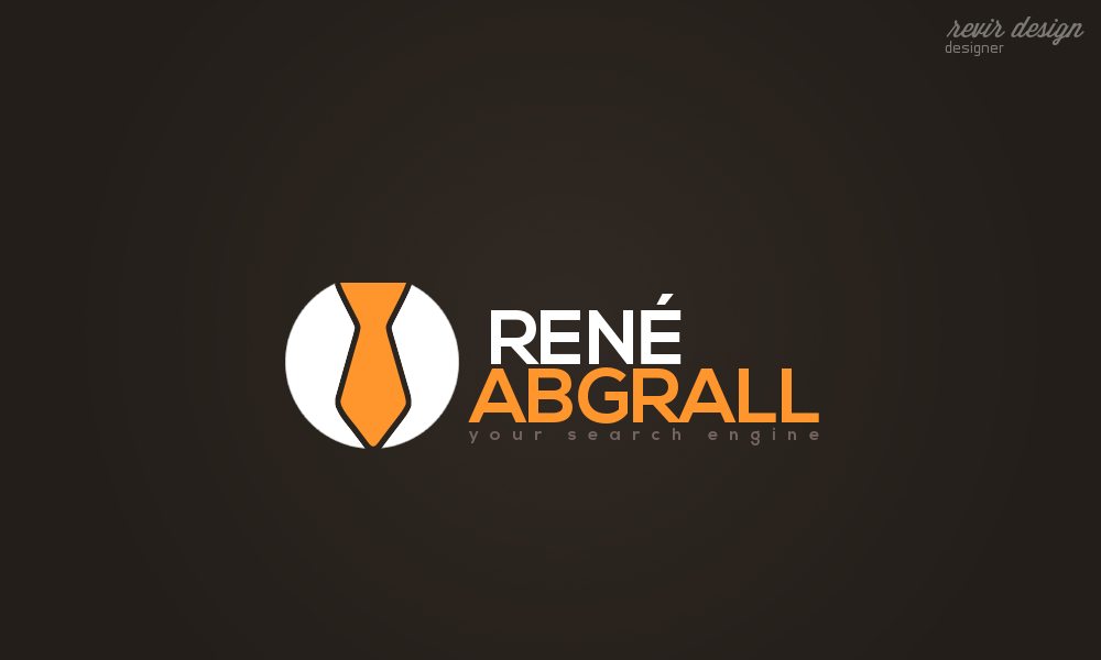 Logo Design by Gabriel Camacho - Entry No. 49 in the Logo Design Contest Artistic Logo Design for René Abgrall Recruiting.