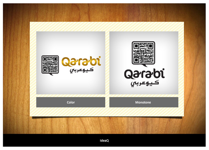 Logo Design by Private User - Entry No. 22 in the Logo Design Contest Creative Logo Design for QaRabi.