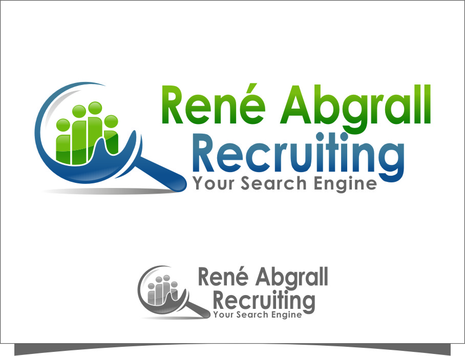 Logo Design by RasYa Muhammad Athaya - Entry No. 53 in the Logo Design Contest Artistic Logo Design for René Abgrall Recruiting.