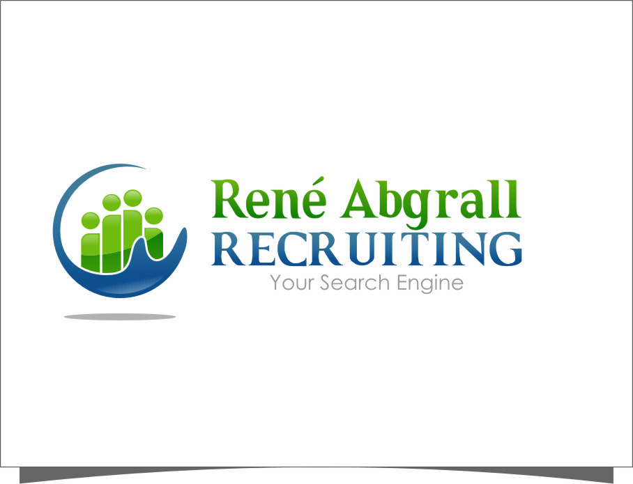 Logo Design by Ngepet_art - Entry No. 54 in the Logo Design Contest Artistic Logo Design for René Abgrall Recruiting.