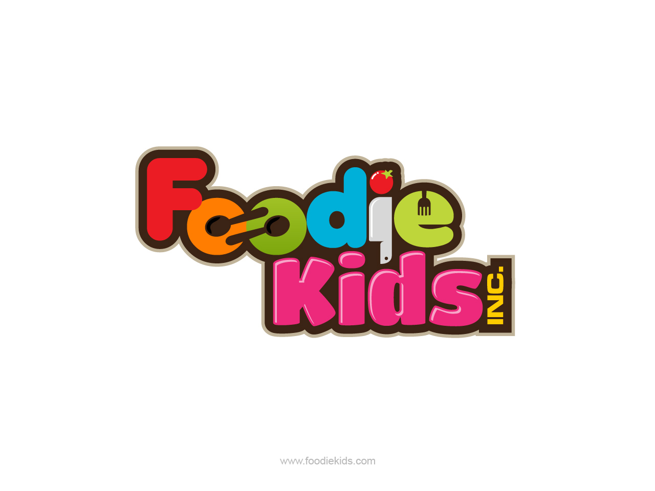 Logo Design by jpbituin - Entry No. 42 in the Logo Design Contest New Logo Design for Foodie Kids Inc..