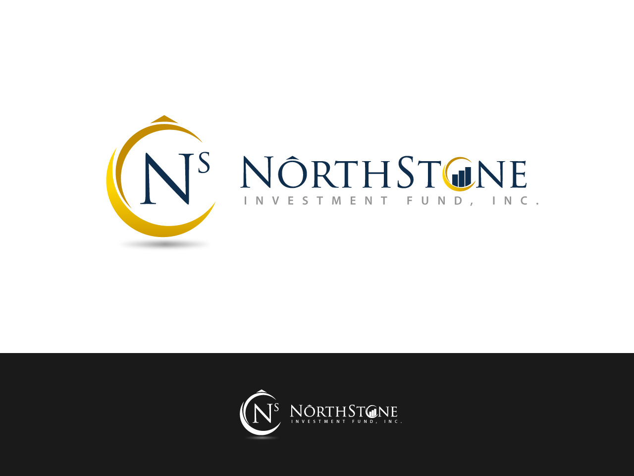 Logo Design by jpbituin - Entry No. 48 in the Logo Design Contest Unique Logo Design Wanted for NorthStone Investment Fund Inc.