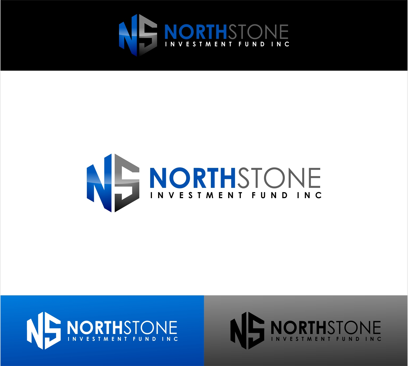 Logo Design by haidu - Entry No. 49 in the Logo Design Contest Unique Logo Design Wanted for NorthStone Investment Fund Inc.