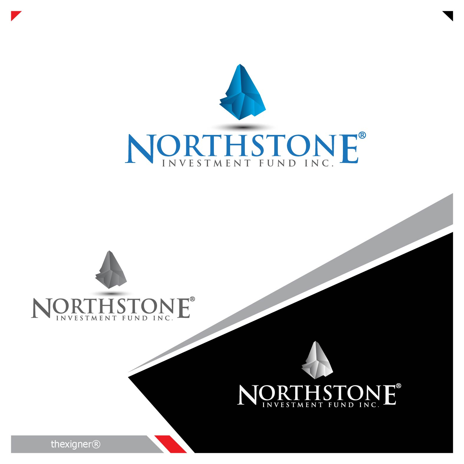 Logo Design by lagalag - Entry No. 50 in the Logo Design Contest Unique Logo Design Wanted for NorthStone Investment Fund Inc.