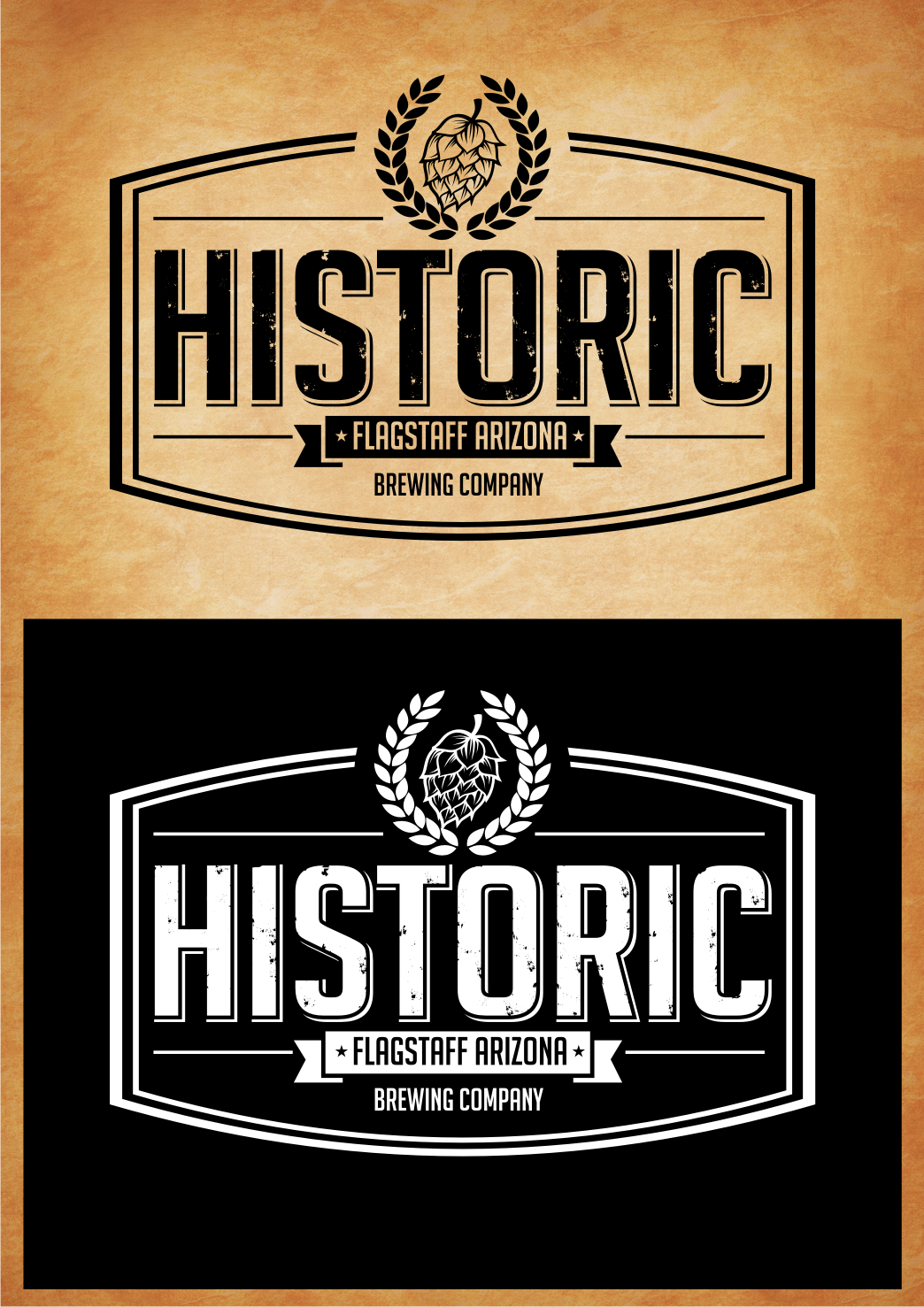 Logo Design by Tille Famz - Entry No. 70 in the Logo Design Contest Unique Logo Design Wanted for Historic Brewing Company.