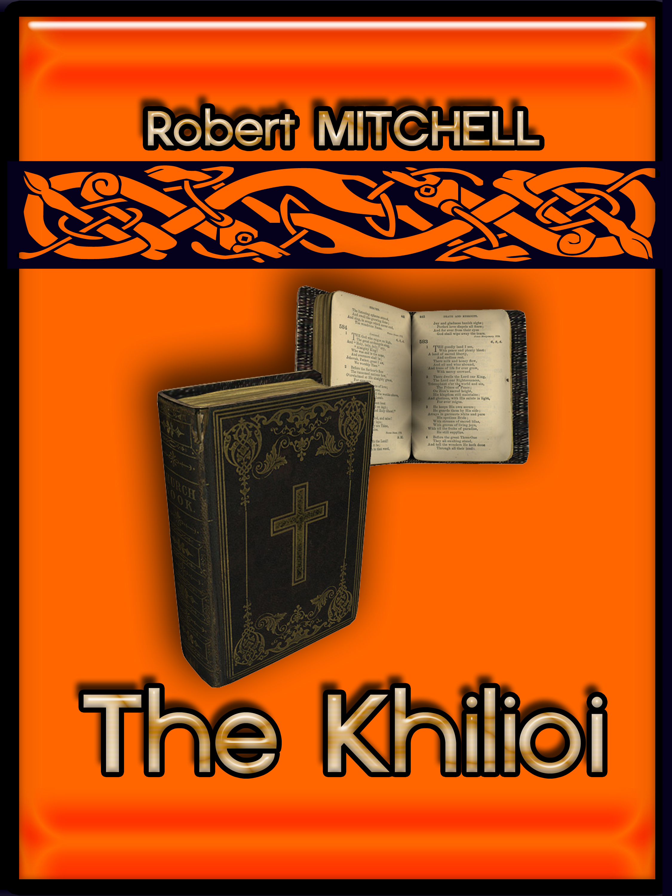 Book Cover Design by MITUCA ANDREI - Entry No. 3 in the Book Cover Design Contest The Khilioi Book Cover Design.