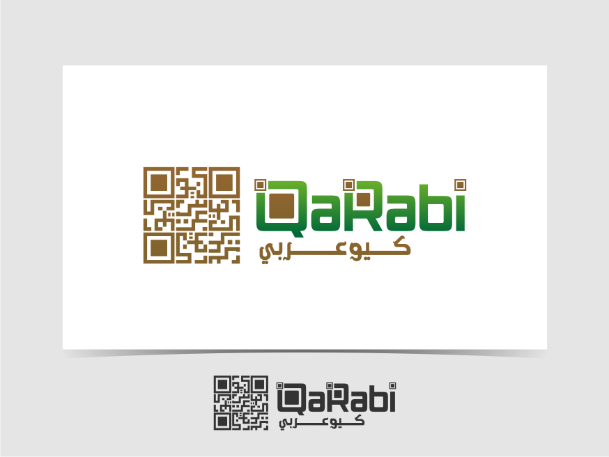 Logo Design by graphicleaf - Entry No. 32 in the Logo Design Contest Creative Logo Design for QaRabi.