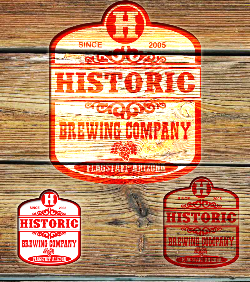 Logo Design by Private User - Entry No. 73 in the Logo Design Contest Unique Logo Design Wanted for Historic Brewing Company.