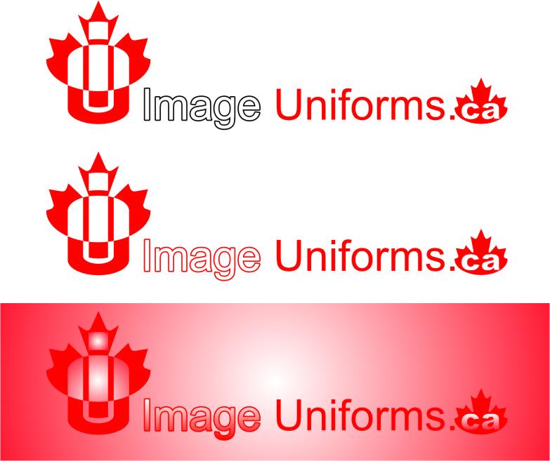 Logo Design by Korsunov Oleg - Entry No. 11 in the Logo Design Contest Inspiring Logo Design for Image Uniforms Inc.