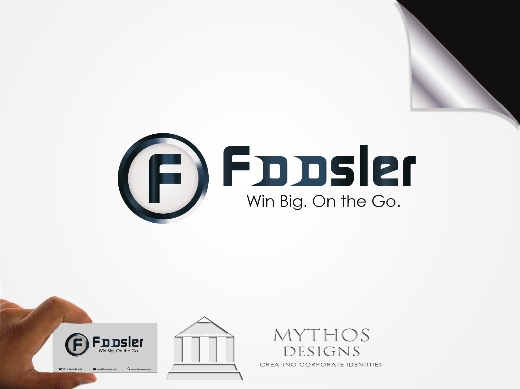 Logo Design by Mythos Designs - Entry No. 162 in the Logo Design Contest Foosler Logo Design.
