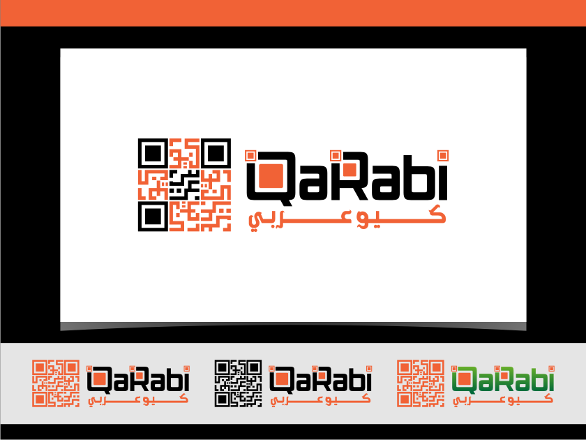 Logo Design by graphicleaf - Entry No. 35 in the Logo Design Contest Creative Logo Design for QaRabi.