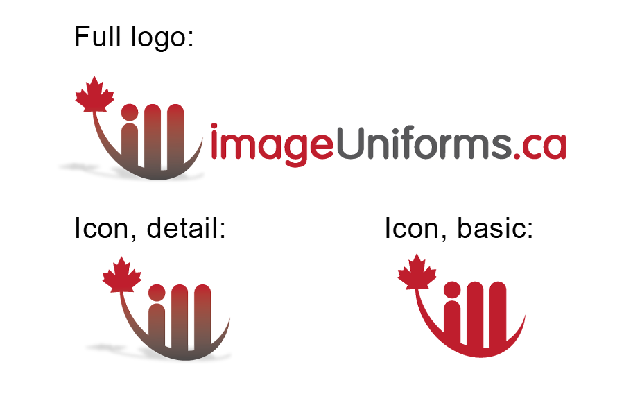Logo Design by Christina Evans - Entry No. 14 in the Logo Design Contest Inspiring Logo Design for Image Uniforms Inc.