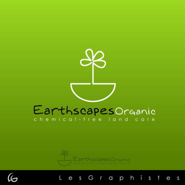Logo Design by Les-Graphistes - Entry No. 124 in the Logo Design Contest Earthscapes Organic.