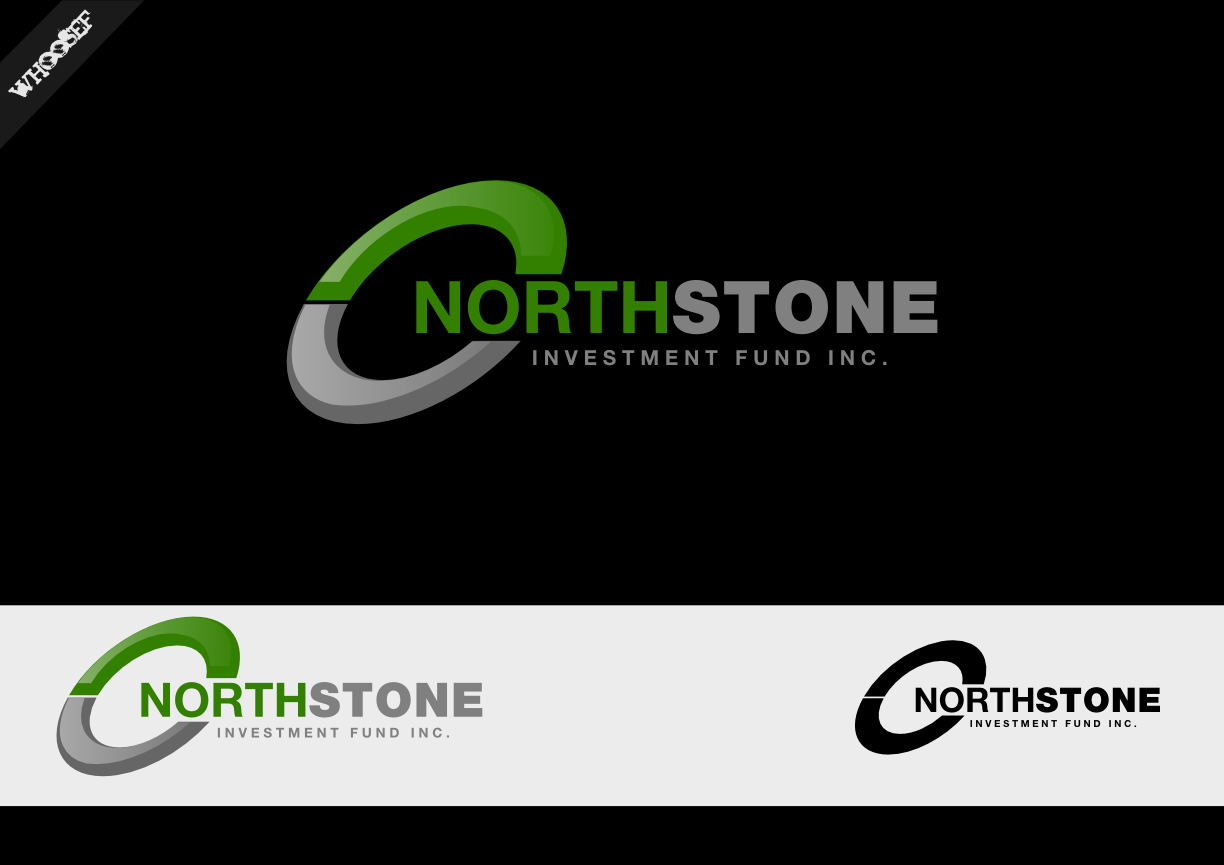 Logo Design by whoosef - Entry No. 71 in the Logo Design Contest Unique Logo Design Wanted for NorthStone Investment Fund Inc.
