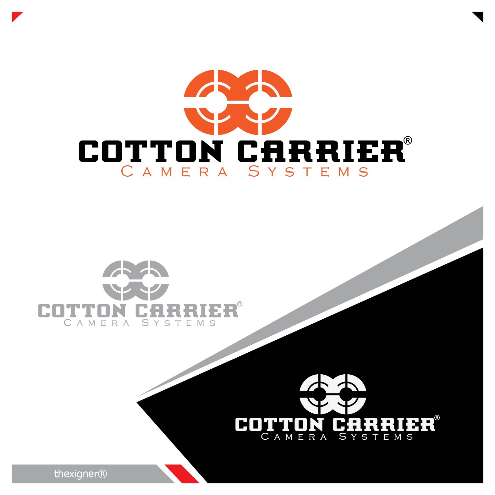 Logo Design by lagalag - Entry No. 9 in the Logo Design Contest Cotton Carrier Camera Systems Logo Design.