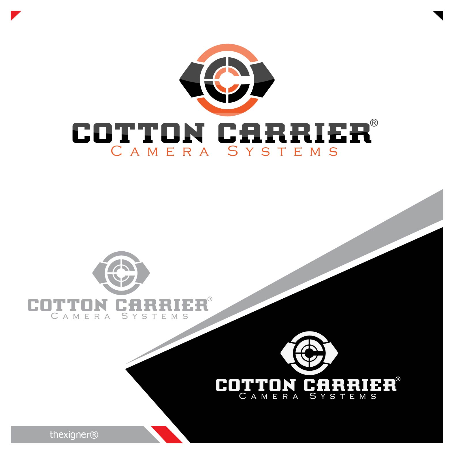 Logo Design by lagalag - Entry No. 10 in the Logo Design Contest Cotton Carrier Camera Systems Logo Design.