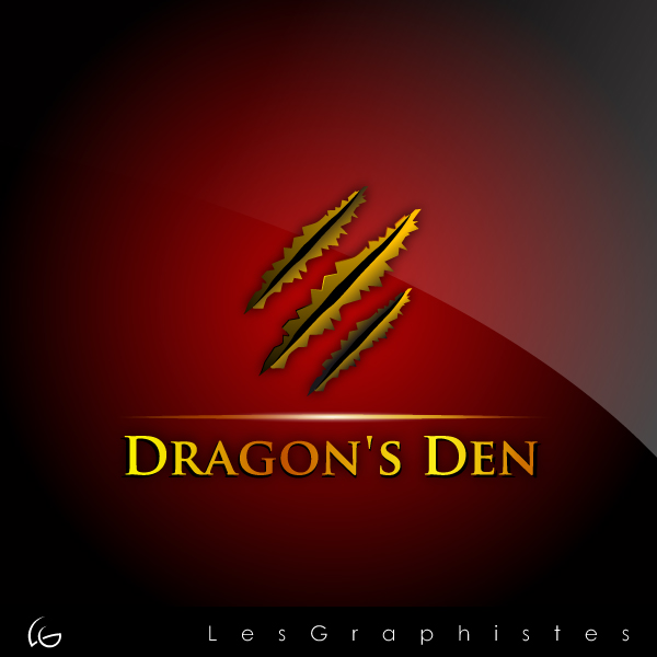 Logo Design by Les-Graphistes - Entry No. 57 in the Logo Design Contest The Dragons' Den needs a new logo.