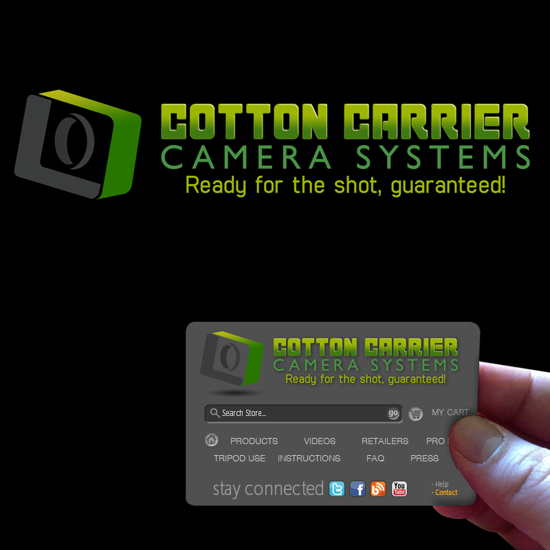 Logo Design by Private User - Entry No. 16 in the Logo Design Contest Cotton Carrier Camera Systems Logo Design.
