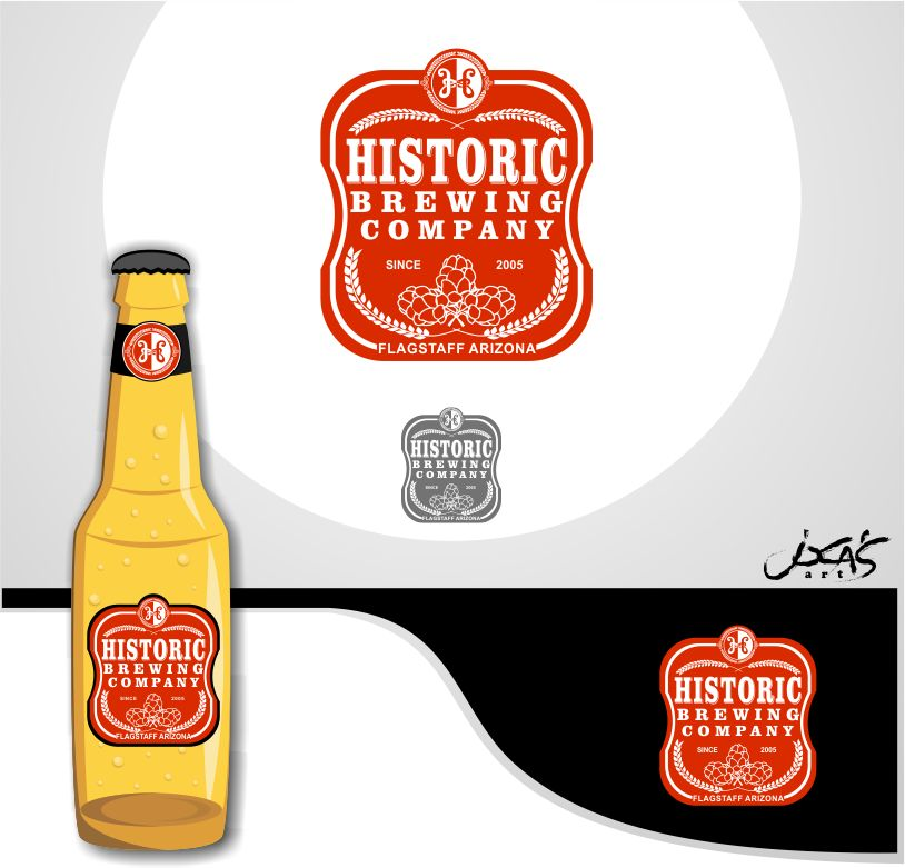 Logo Design by joca - Entry No. 88 in the Logo Design Contest Unique Logo Design Wanted for Historic Brewing Company.